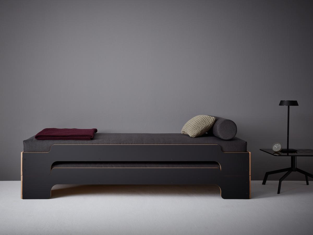 Müller Small Living Stacking Bed Comfort By Rolf Heide 1966 Designer Furniture By Smow Com
