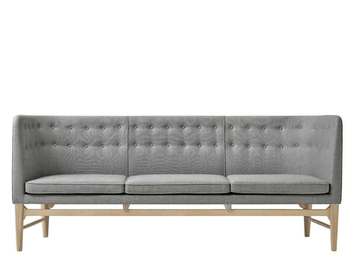 Sofa Grau Tradition Mayor Sofa Fabric Sunniva 2 Grey White Oiled Oak