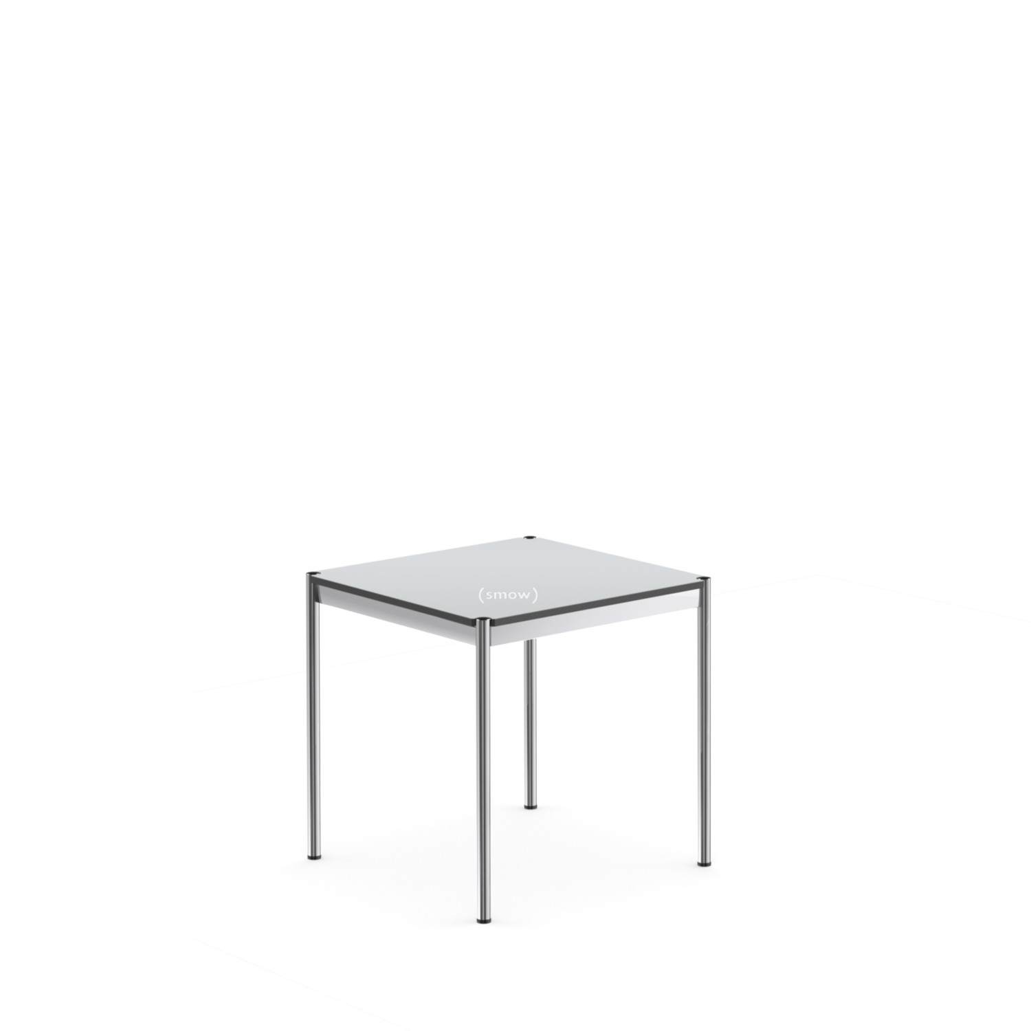 Light Line 3 Couchtisch Usm Haller Table 75 X 75 Cm Laminate Pearl Grey By Fritz Haller