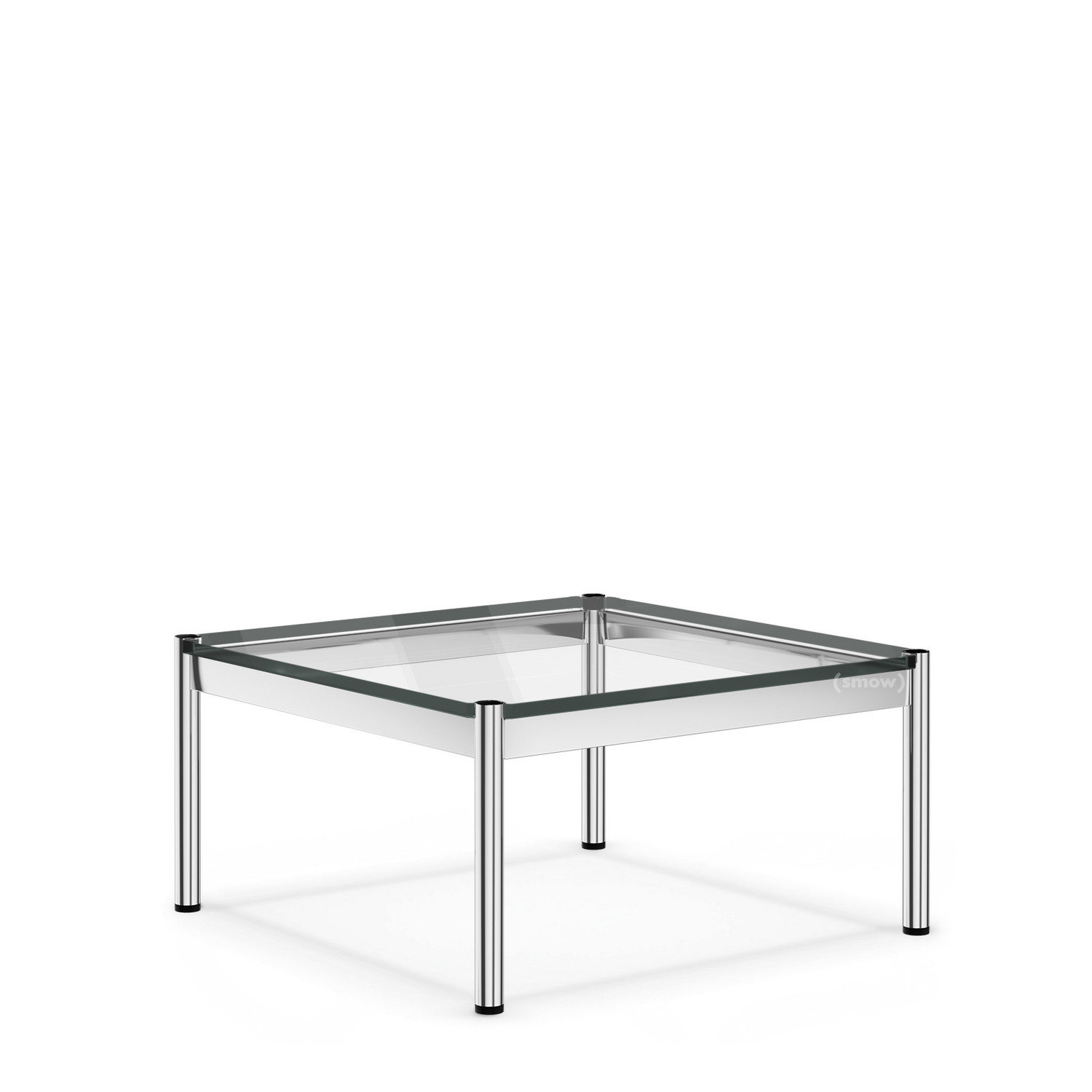 Usm Haller Couchtisch Usm Haller Coffee Table 75 X 75 Cm Glass Transparent By Fritz