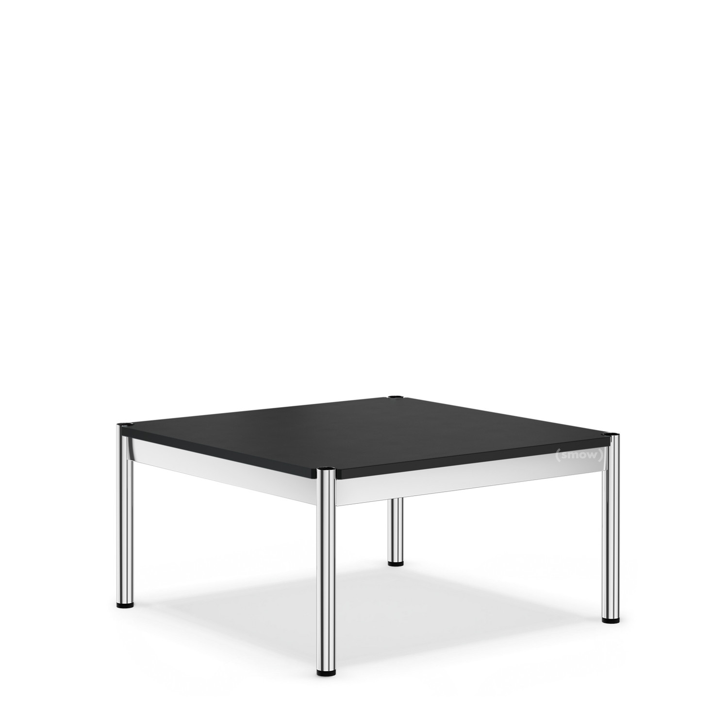 Usm Couchtisch Usm Haller Coffee Table 75 X 75 Cm Linoleum Nero By Fritz
