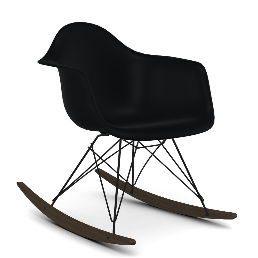 Eames Rar Vitra Eames Plastic Armchair Rar Basic Dark Coated Basic Dark