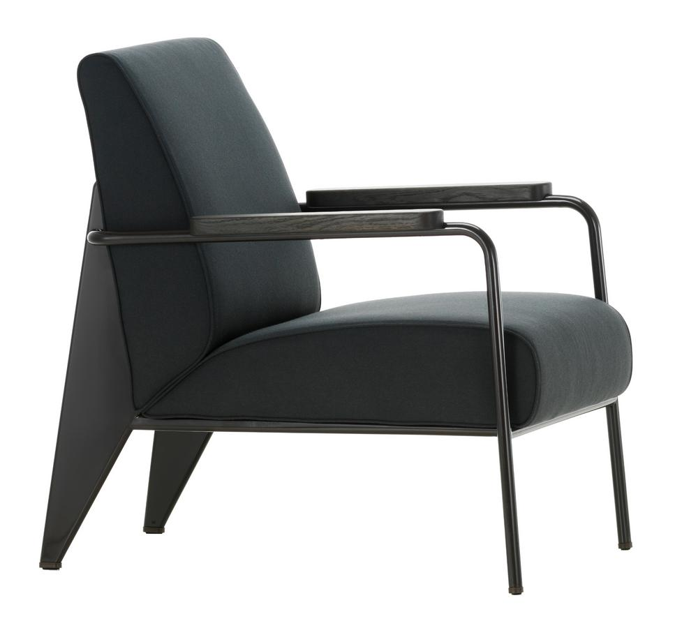 Vitra Fauteuil De Salon Black By Jean Prouvé 1939 Designer Furniture By Smow Com