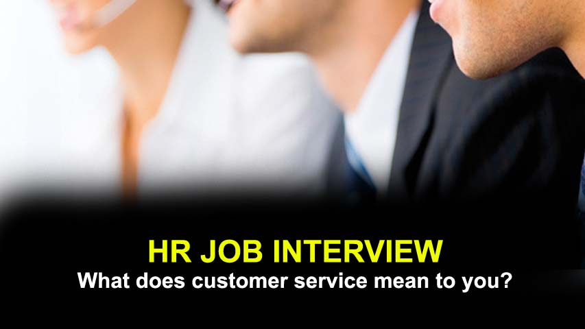 What does customer service mean to you? AJIRA FORUM