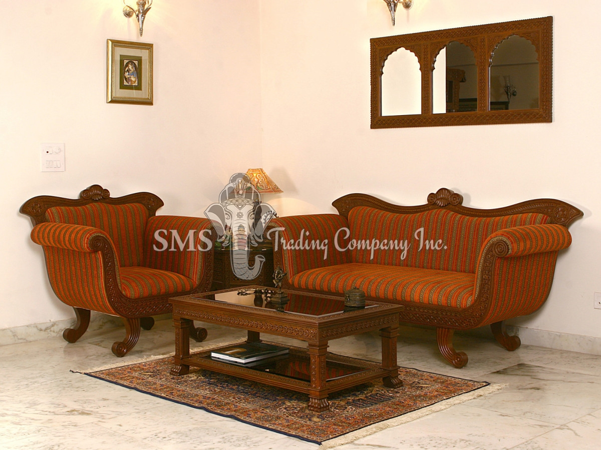 Sofa Set Furniture Diwan Sofa Chairs Set 1