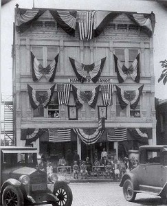 old Hamburg Grange bldg