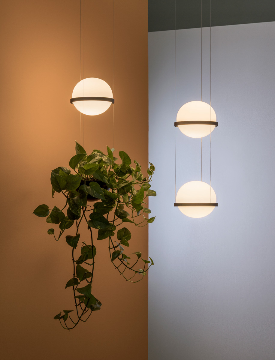 Interieur Design Verlichting Palma Pendant 3724 Design Antoni Arola For Vibia