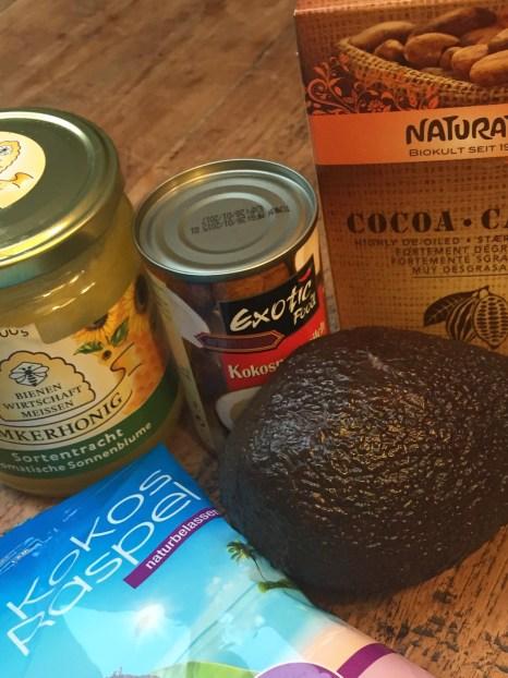 Zutaten Chocomole