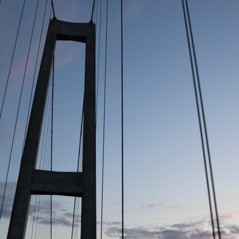 Brücke von der Insel Fyn in Dänemark