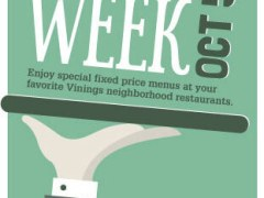 Second Annual Vinings Restaurant Week