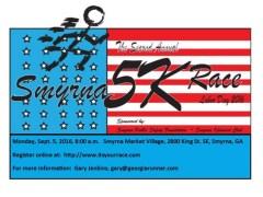 2016 Smyrna 5K race