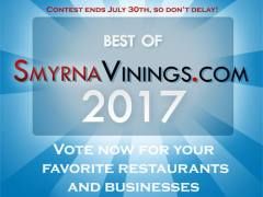 Best of Smyrna Vinings 2017 – Cast your Votes