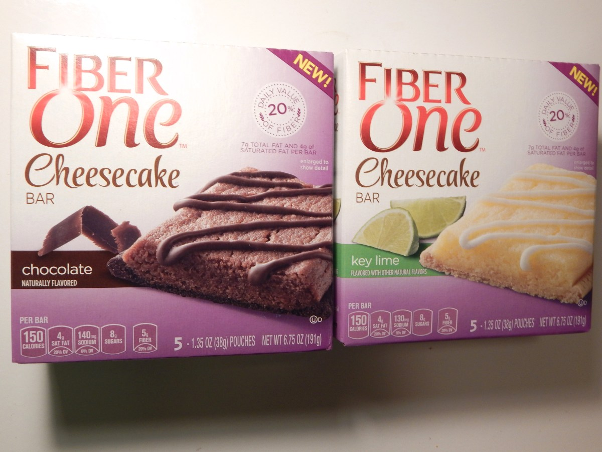 [2-Pack Review] Fiber One Chocolate and Key Lime Cheesecake Bars