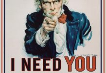 Uncle Sam needs you to join the fight! Click here for full-sized flyer!