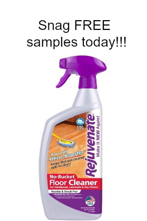 Snag FREE samples of Rejuvenate cleaning products! - Snag Free Samples
