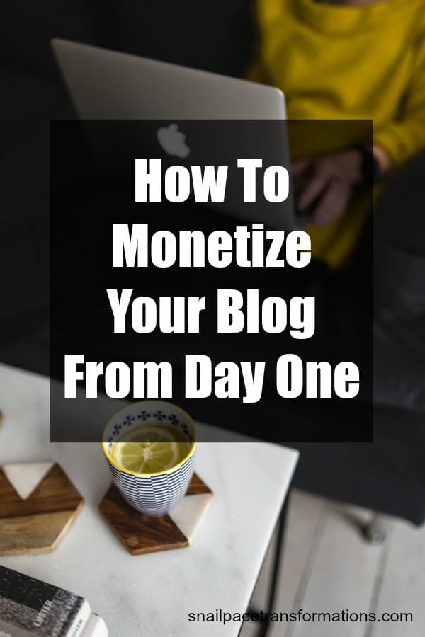 How To Monetize A Small Blog Making Money From Day One - how to develop a sales training plan