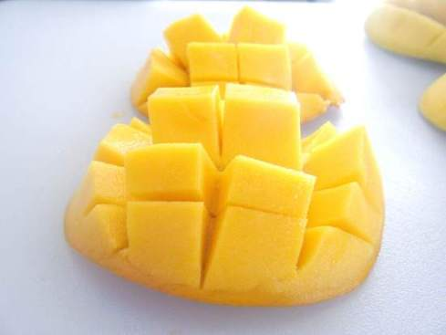 Caribbean Mango Chicken Burgers Recipe   SnappyGourmet.com