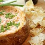 Buffalo Shrimp Bread Bowl Dip