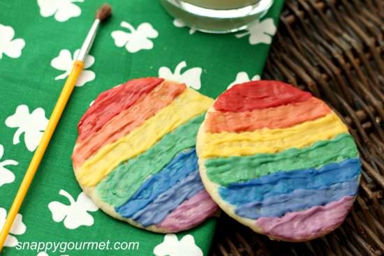 rainbow painted sugar cookies 8a wm
