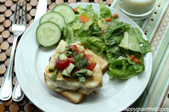 Parmesan Bruschetta Chicken Recipe   SnappyGourmet.com