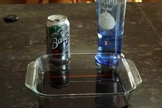 Whipped Root Beer Granita Shots Recipe   SnappyGourmet.com