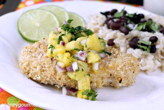 Caribbean Oven Roasted Chicken 4b wm