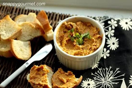 Sundried Tomato & Basil Spread Recipe | SnappyGourmet.com