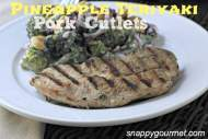 Pineapple Teriyaki Pork Cutlets