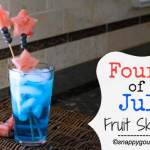 Fourth of July Fruit Skewers