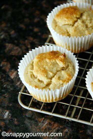 Easy Almond Flour Muffins   snappygourmet.com