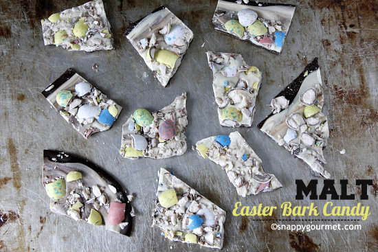 Malt Easter Bark Candy