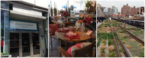NYC Food Tour - gracious home & high line   snappygourmet.com