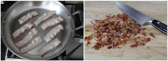 Bacon & Apples Foster Recipe | snappygourmet.com