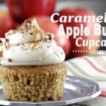 Caramel Apple Butter Cupcakes