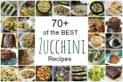 Best Zucchini Recipes - 70+ of the best zucchini recipes for cookies, cakes, bread, muffins, zoodles, casseroles, and more! SnappyGourmet.com