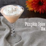 Pumpkin Spice Cake Martini Recipe
