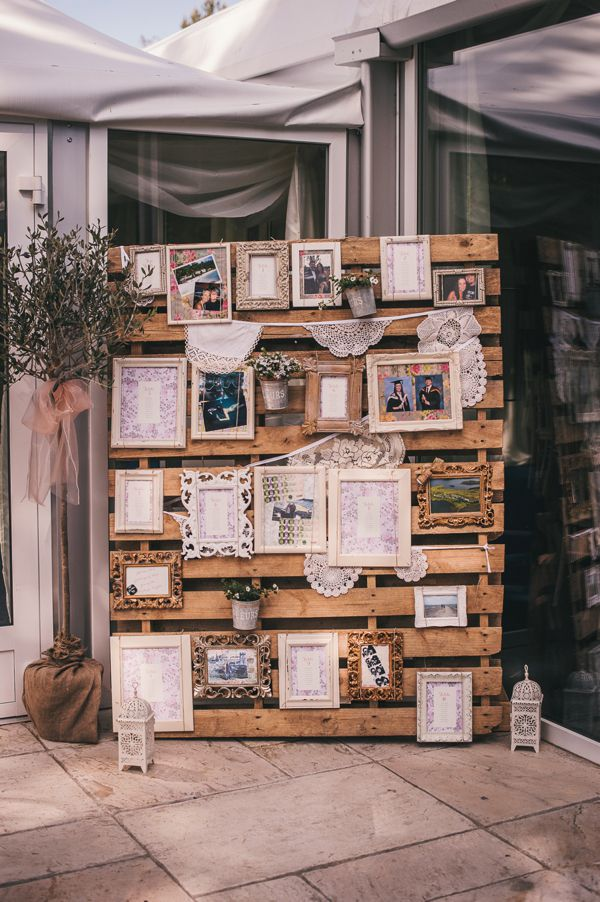 Fotowand Home 26 Pallet Signs & Ideas For Weddings - Snappy Pixels