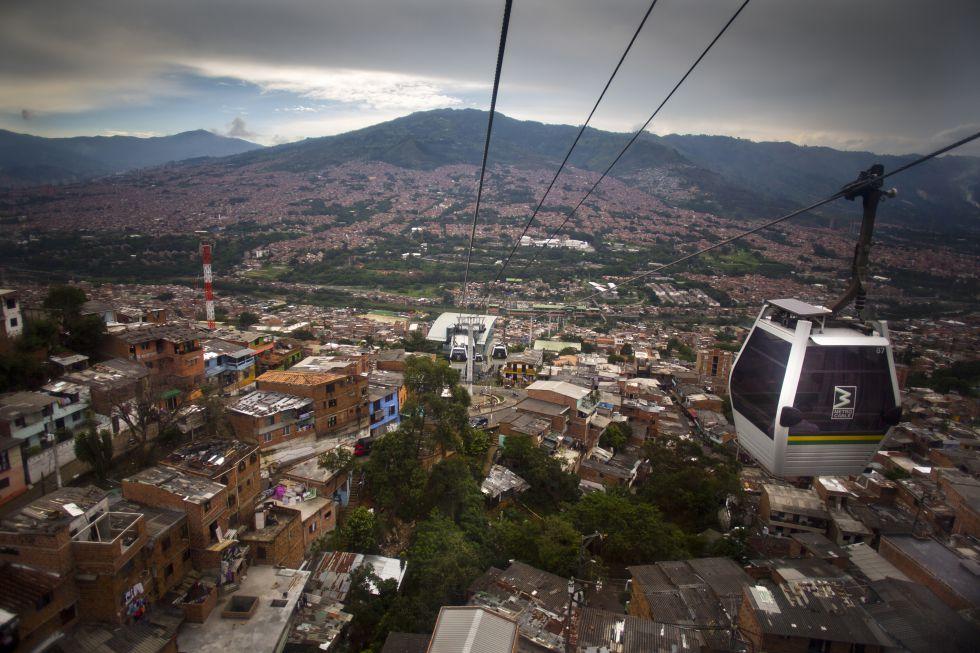 El metrocable de Medellín
