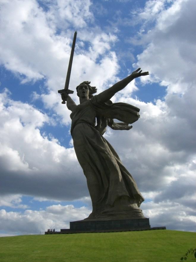Rodina Mat, Mother Motherland or Mother Russia, Volgograd, Russia