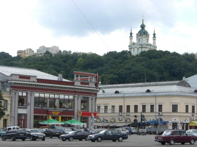 St. Andrew's Church, Kiev, Ukraine