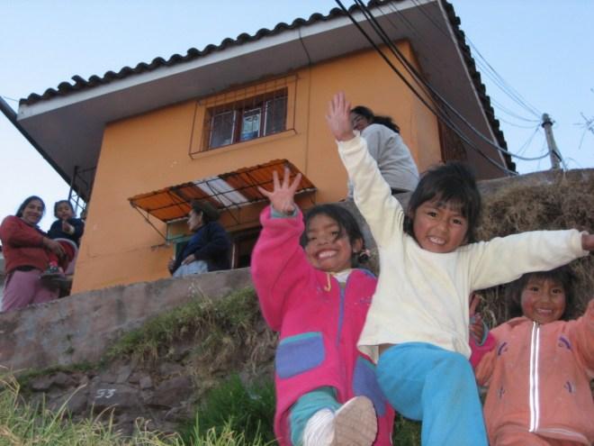 Cuzco kids, Peru