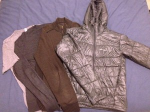 Cold weather winter travel gear