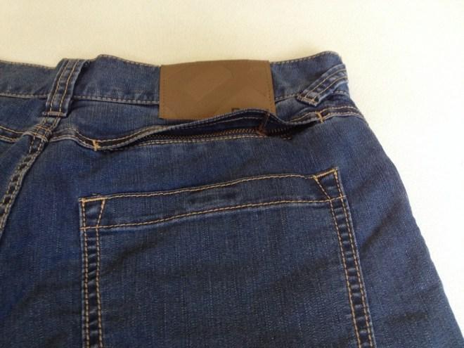 Rohan Jeans Plus hidden back pocket