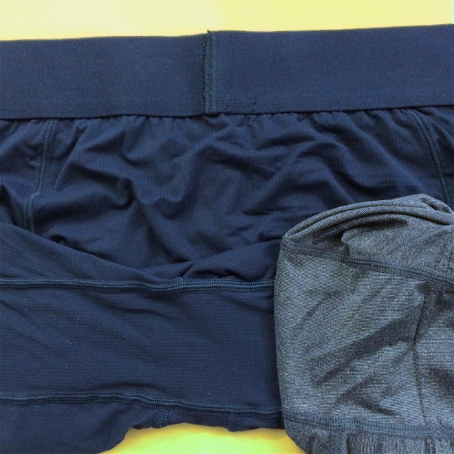 Tommy John Air vs Uniqlo Airism gusset