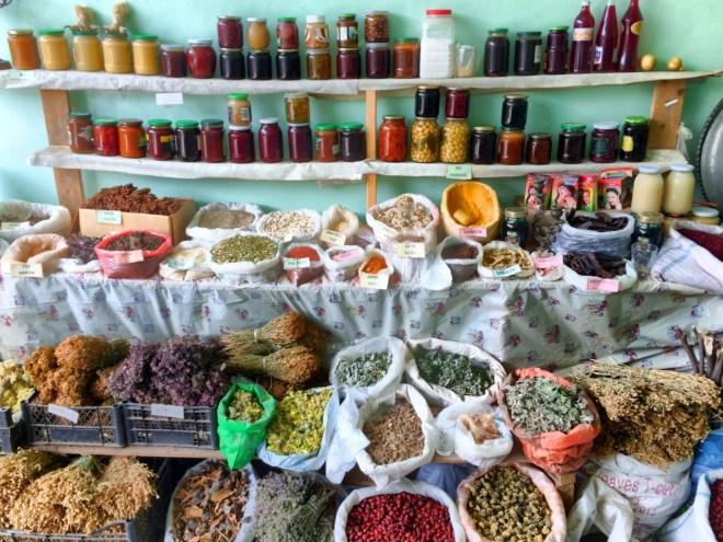 Azerbaijan spice market