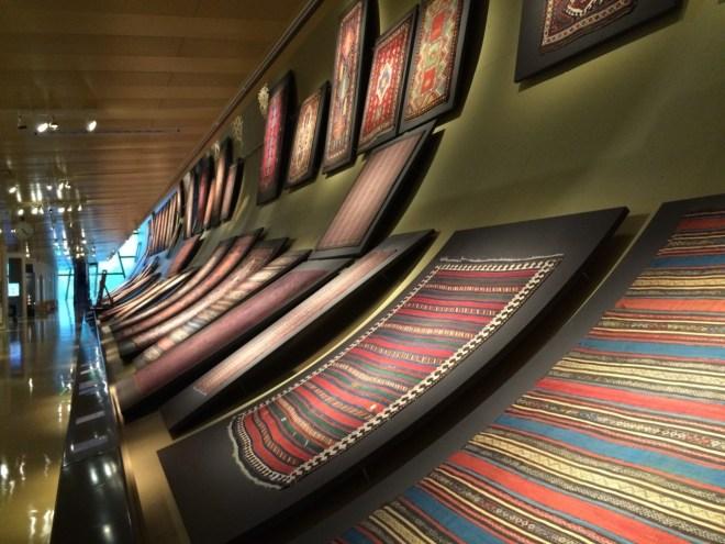 Baku Carpet Museum exhibit