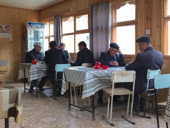 Lahic teahouse