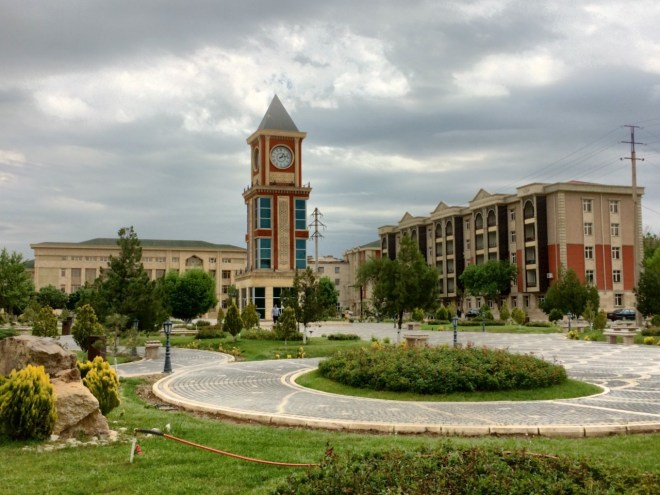 Nakhchivan town square