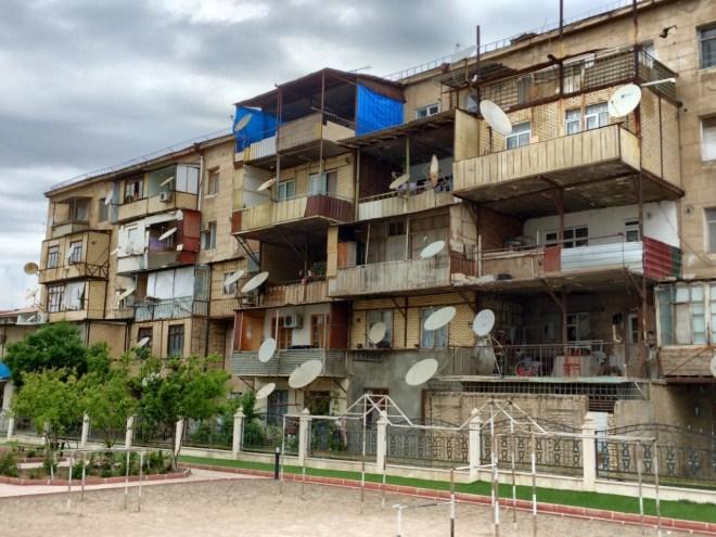 More Nakhchivan balcony extensions