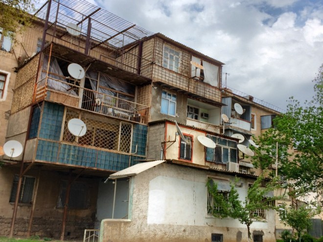 Nakhchivan balcony extensions